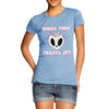 Women's Halloween Where Them Treats At T-Shirt