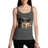 Women's Creepy Dolls Heads Tank Top