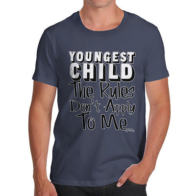 Men's Youngest Child Rules Don't Apply To me T-Shirt
