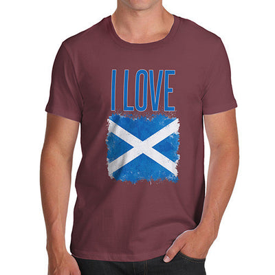 Men's I Love Scotland T-Shirt