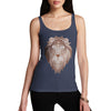 Women's Tribal Lion Head Tank Top