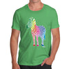 Men's Rainbow Zebra T-Shirt