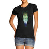 Women's Galaxy Zebra Head T-Shirt