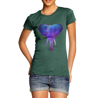 Women's Elephant Galaxy T-Shirt