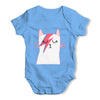 Glam Rock Cat Baby Grow Bodysuit