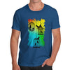 Men's Rainbow Bird Cages T-Shirt