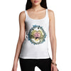 Women's Love Birds Perched On A Branch Tank Top