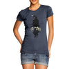 Women's Watercolour Pixel Crow T-Shirt