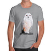 Men's Clockwork Snowy Owl T-Shirt