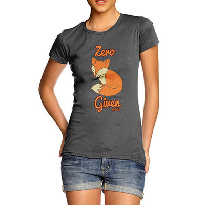 Women's Zero Fox Given T-Shirt