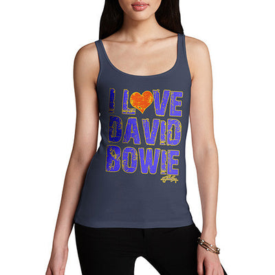 Women's Love David Bowie Tank Top