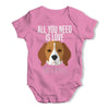 All You Need Is A Beagle Baby Grow Bodysuit