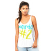 Weirdo #2 Women's Flowy Side Slit Tank
