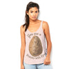 You Are A Potato With Eyes Women's Flowy Side Slit Tank