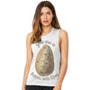 You Are A Potato With Eyes Women's Flowy Scoop Muscle Tank