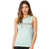 Undesirable Number 1 Women's Flowy Scoop Muscle Tank