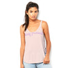 Stay Pressed Women's Flowy Side Slit Tank