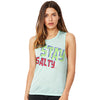 Stay Salty Women's Flowy Scoop Muscle Tank