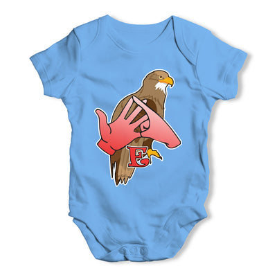 Sign Language Letter E Baby Grow Bodysuit