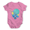 Sign Language Letter S Baby Grow Bodysuit