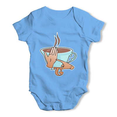 Sign Language Letter T Baby Grow Bodysuit