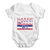 Made In HI Hawaii Baby Grow Bodysuit
