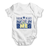Made In ME Maine Baby Grow Bodysuit