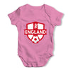 England Badge Baby Grow Bodysuit