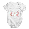 Queen Of The North Crown Baby Grow Bodysuit