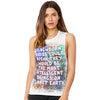 If New Born Babies Could Speak Women's Flowy Scoop Muscle Tank