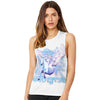 Pegasus Unicorn Universe Women's Flowy Scoop Muscle Tank