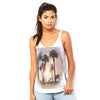 Palm Tree Sunset Women's Flowy Side Slit Tank