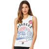 Invaders Motorcycle Club Women's Flowy Scoop Muscle Tank