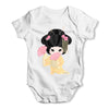 Hanako Yellow Version Baby Grow Bodysuit