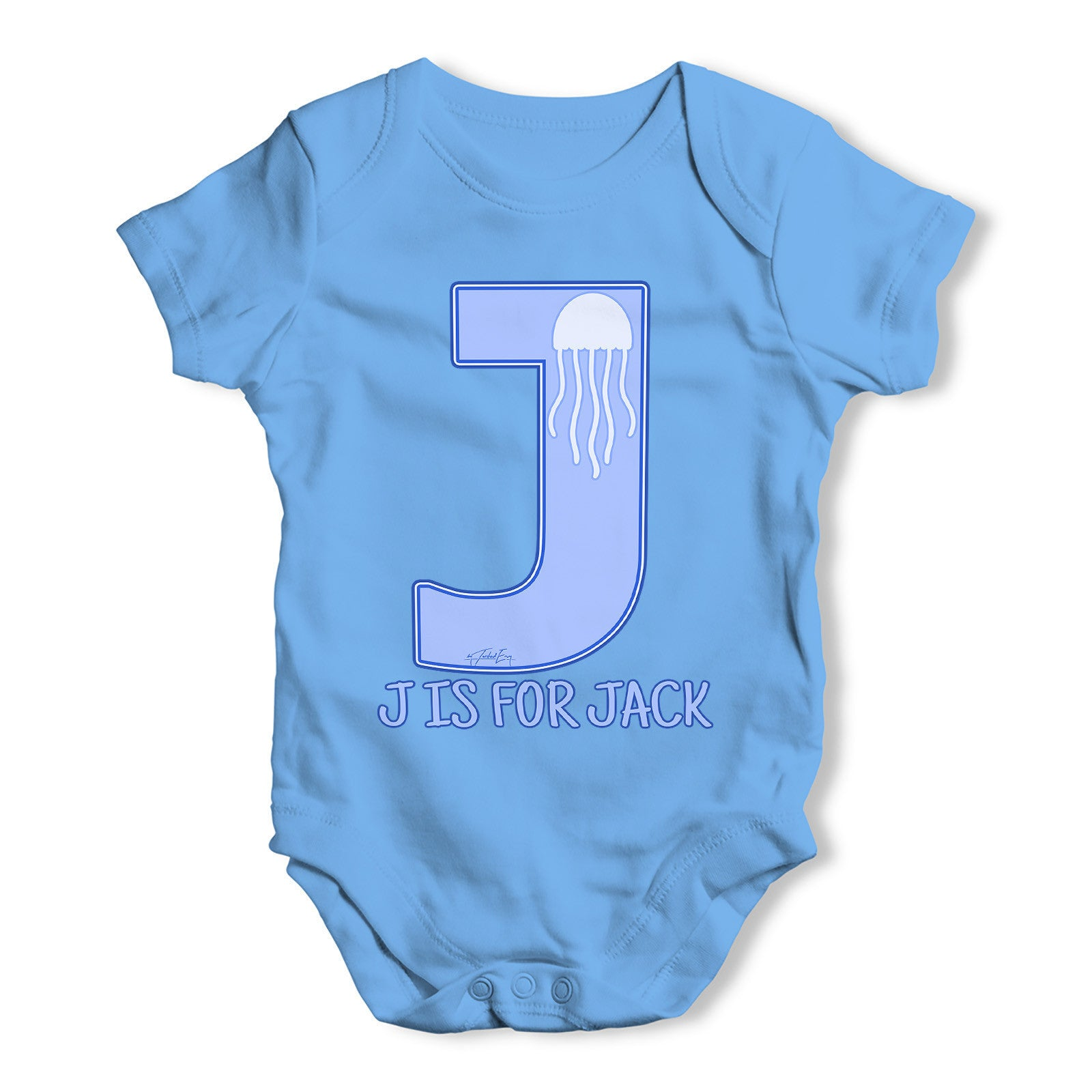 Baby Grow Slogan Novelty Body Suit Baby Name Personalise With Name