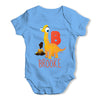 Personalised Dinosaur Letter B Funny One-piece Infant Baby Bodysuits Babygrows Onesie