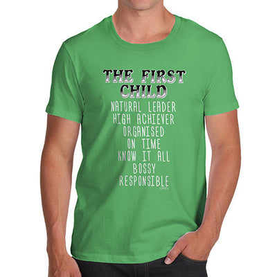 The First Child Attributes Men's T-Shirt