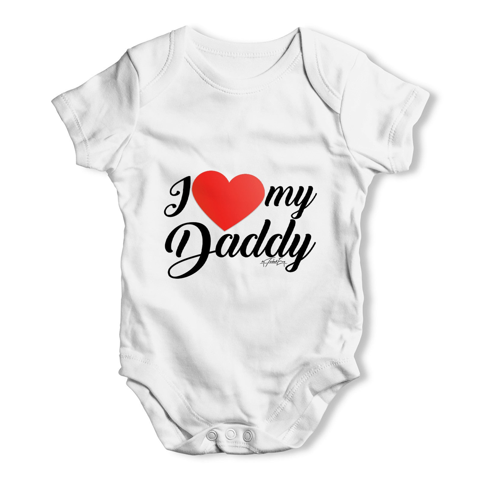 I Love My Daddy Baby Grow Bodysuit – inkrocks