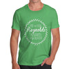 Personalised Wedding Wreath Men's T-Shirt