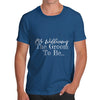 Personalised The Groom To Be Men's T-Shirt