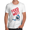 Feed Me Shark Men's T-Shirt