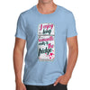 Long Romantic Walks To The Fridge Men's T-Shirt