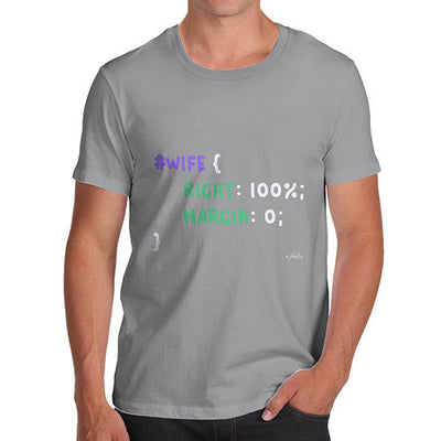 CSS Pun Wife Men's T-Shirt