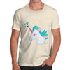 Unicorn Horn Hearts Men's T-Shirt