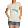 Unicorn Horn Hearts Women's T-Shirt