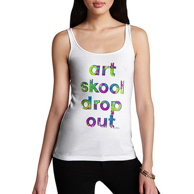Art Skool Drop Out Women's Tank Top
