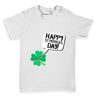 ccf458c1 Cute Clover St Patrick's Day Baby Toddler T-Shirt - inkrocks