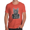 Bad Kitty Mugshot Men's T-Shirt