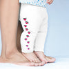 Love Heart Paw Prints Baby Leggings Trousers