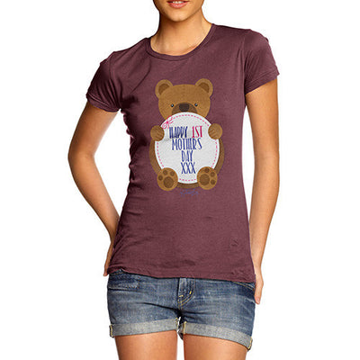 1st Mother's Day Bear Women's T-Shirt